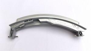 stříbrná rukojeť dveří, madlo, otvírání pračka Bosch, Siemens, provedení Maniglia (stříbrná) - 648581, 751789, 648581, 00751789, 751283