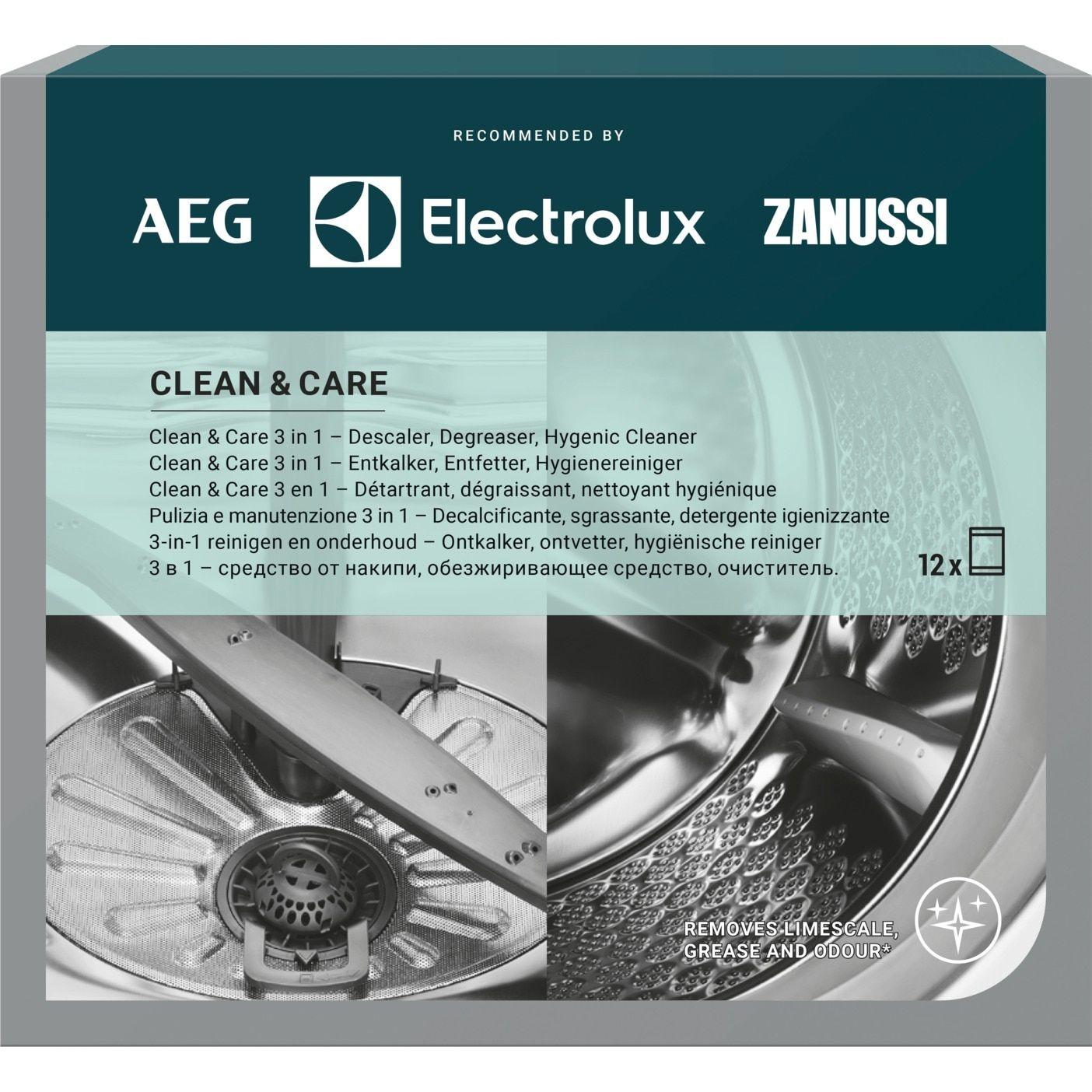 odstraňovač vodního kamene pro pračky a myčky CLEAN & CARE - 9029799195 AEG / Electrolux / Zanussi
