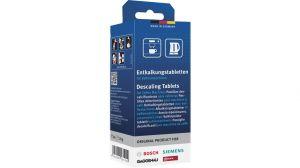 Odvápňovací tablety, kávovar, varná konvice, výdejník horké vody Bosch - 00311864