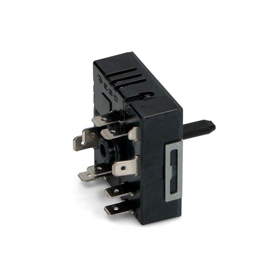 regulátor energie plotny, přepínač ploten sklokeramických sporáků - dva okruhy - 50.85021.000 AEG / Electrolux / Zanussi