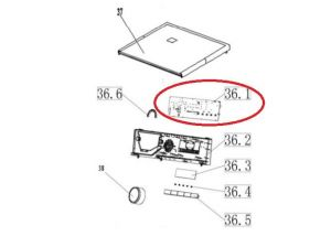 modul pračka Vestel - 301330660278