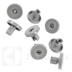sada 8 ks koleček spodního koše myčka Zanussi, Electrolux, AEG průměr 40 mm - 50269971003 AEG / Electrolux / Zanussi