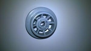 kolečko koš myčka Bosch, Siemens, průměr 36 mm