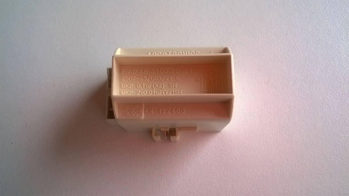 kondenzátor, filtr odrušovací myčka Bosch, Siemens - 00600233 Bosch / Siemens