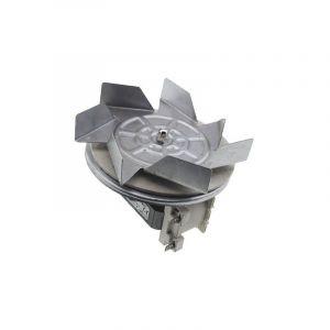 horkovzdušný ventilátor trouby
