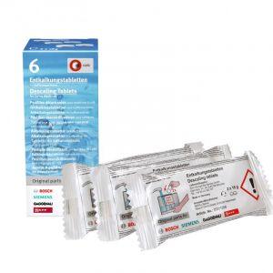 odvápňovací tablety - 6 kusů pro 6 čištění