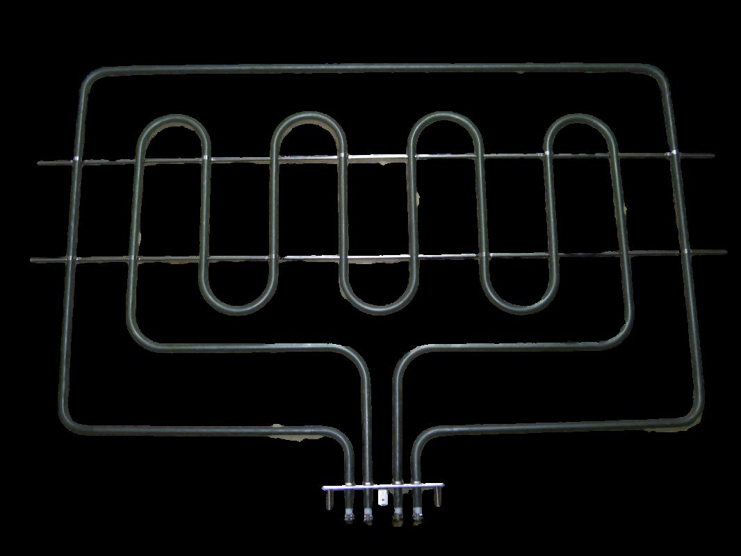 originální těleso, topení horní na troubu, sporák Smeg 230V, 3850W (1050 W + 2800 W) - 806890438, 806890320, 806890236, 806890213