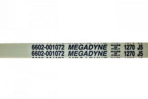 řemen 1270 J5 do pračky Indesit Ariston Zanussi Electrolux AEG Whirlpool Candy - C00027206 Whirlpool / Indesit