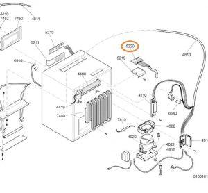 Modul lednička Whirlpool / Indesit - 481221778276