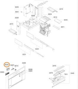 Modul kávovar Whirlpool / Indesit - 482000000712