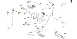 Hadice pračka BSH - 11041246