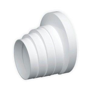 Stupňovitá redukce kruhová pro plastového potrubí 150/125/120/110/100 mm