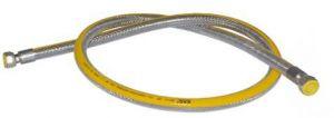 Plynová připojovací hadice pro trouby & plynové varné desky,  DN12, Gasflex MM1/2X1/2, 125 CM
