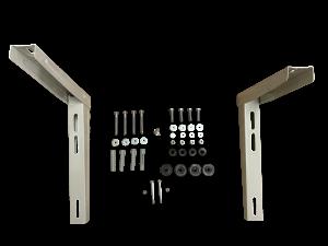 Montovaná konzole pro upevnění klimatizací - L = 420 mm, H = 375 mm