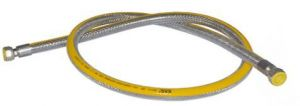 Plynová připojovací hadice pro trouby & plynové varné desky, DN12, Gasflex MM1/2X1/2, 150 CM