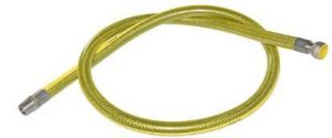 Plynová připojovací hadice pro trouby & varné plynové desky DN12, gasflex,  SM1/2X1/2 - 125 cm
