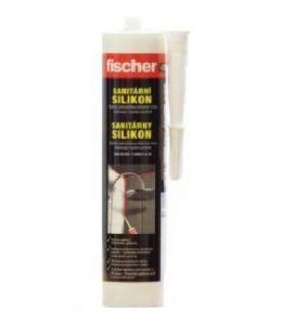 Sanitární silikonový tmel 310 transparentní Fischer
