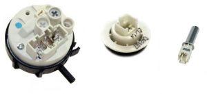 Snímače tlaku,  teploty,  termostaty do praček