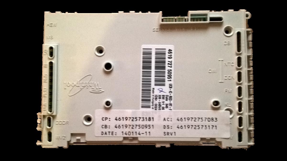 originální elektronika myčky Whirlpool bez software - 480140102482 Whirlpool / Indesit