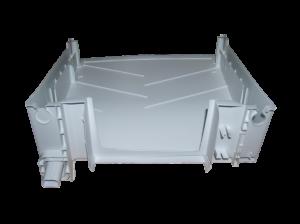 držák, kryt výparníku chladnička Zanussi, Electrolux, AEG - 2426437089 AEG / Electrolux / Zanussi