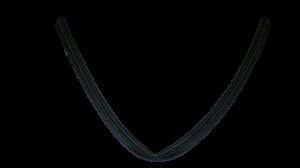 spodní těsnění dveří myčka Beko, Amica, Whirlpool - 1882470200 Beko / Blomberg