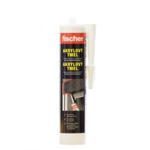 Akrylátový tmel Fischer bílý - 310ml