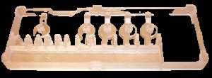 Blok tlačítek, klávesnice, destička, mřížka, držák průhledný myček nádobí Gorenje Mora - 173012