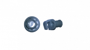 Kolečko horního koše (průměr 22 mm) myček nádobí Bosch Siemens Hotpoint - 00424717