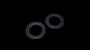 Sada 2 ks těsnění pro směrovač vody, rozváděč vody, distributor vody myček nádobí Amica Beko Blomberg Whirlpool Indesit - 1882150100