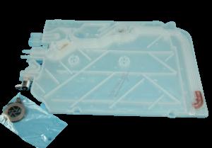 Tepelný výměník myček nádobí Bosch Siemens - 00687133