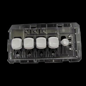 Blok tlačítek, klávesnice, destička, mřížka, držák bílý praček Beko Blomberg - 2867700100