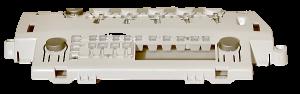 blok tlačítek, klávesnice, destička, mřížka, držák pro pračku Candy - 41035532