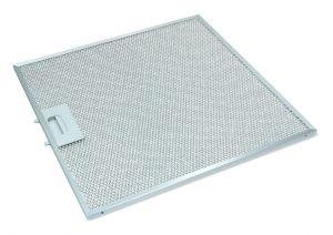 Kovový filtr, 349x350x8 mm, odsavačů par Univerzální