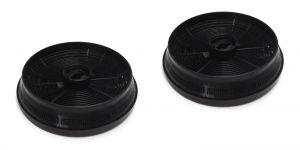 Uhlíkové filtry, 2 ks, Ø 148 mm, v 37 mm, odsavačů par Beko Blomberg - 9179183012