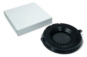 Uhlíkový filtr, Ø 235 mm, v 27 mm, odsavačů par Univerzální