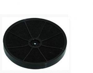 Uhlíkový filtr, šroubový typ, Ø 230 mm, v 30 mm, odsavačů par Whirlpool Indesit - 481281718521