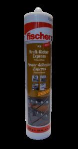 Lepidlo konstrukční KK, FISCHER, 310ml, béžové, polyuretanové