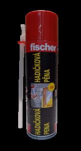 Montážní pěna letní trubičková PU 500 ml / 30l Fischer s ventilem