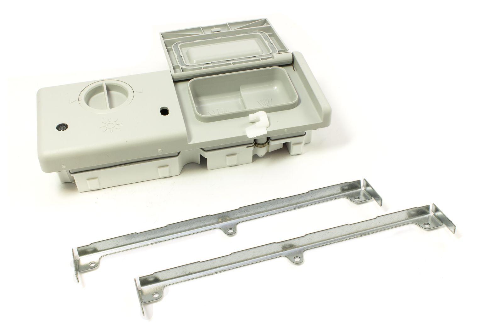 násypka do myček Indesit Ariston Ardo Smeg s termoaktuátorem - C00104789 Whirlpool / Indesit
