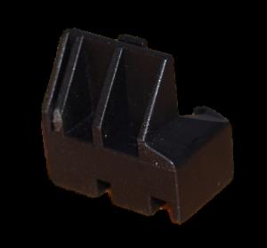 příchytka, držák skla dveří spodní pravý na volně stojící sporák Amica - 8026853