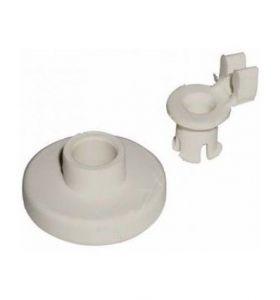 kolečko koš myčka Bosch, Siemens, pr. 33 mm s držákem 00028020+00049671, např. pro SN54904EU/08 - 00066320 Bosch / Siemens