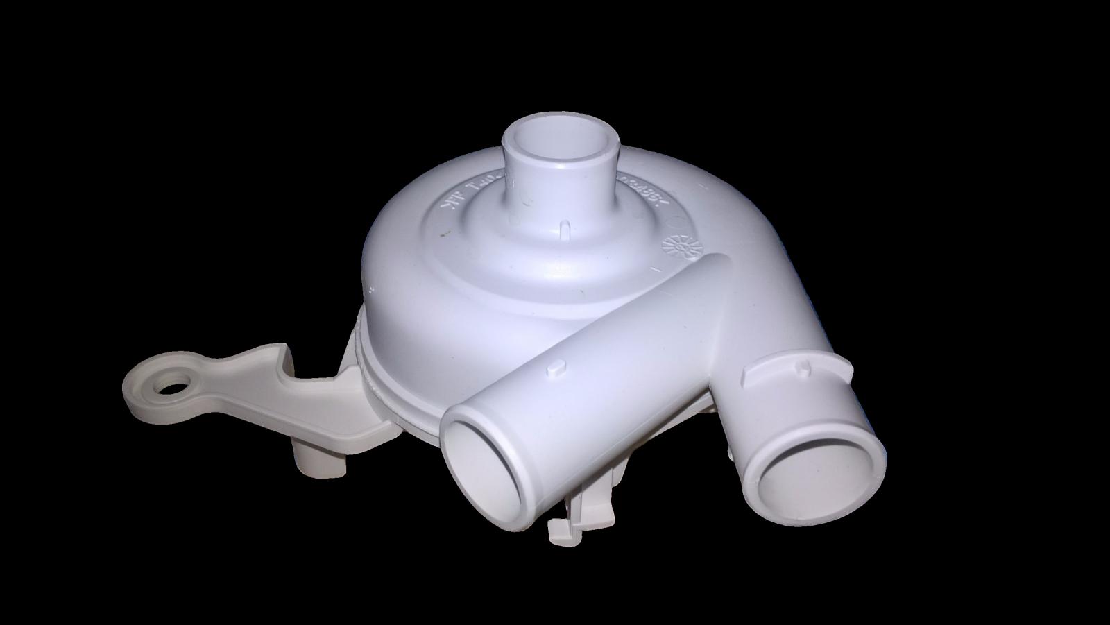 příruba čerpadla na myčku, hlava, mechanický blok, turbína čerpadla myčka Indesit, Ariston - C00055005 Ariston, Indesit Company