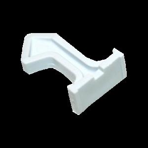 hák dveří pračka Whirlpool / Indesit - 481241719193
