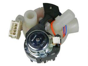 Motorek pro distribuci vody, směrovač vody, rozváděč vody, divertor myček nádobí Smeg Whirlpool Indesit - 819130468
