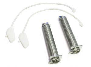 2x pružina pantu + 2x provázek (lanko) myčky Bosch a Siemens šíře 60 cm