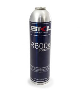 chladící plyn R600a Isobutan