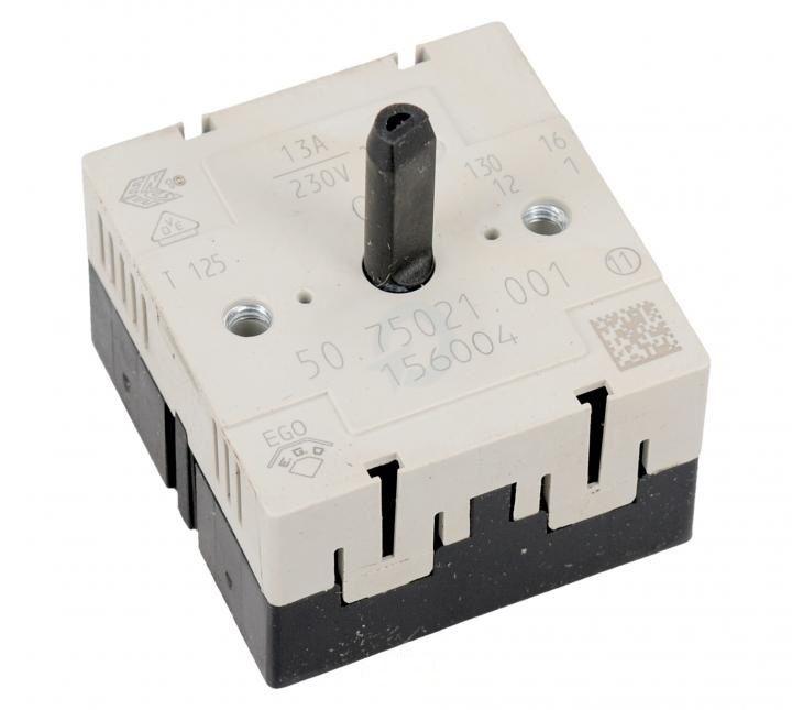 elektroregulátor, regulátor energie plotny, přepínač ploten sklokeramických sporáků - 156004 Gorenje / Mora