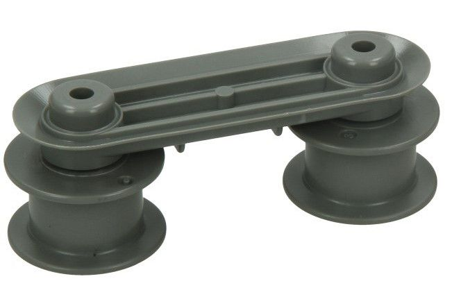kolečko horního koše na myčku Zanussi, Electrolux, AEG - 1172389007 AEG / Electrolux / Zanussi