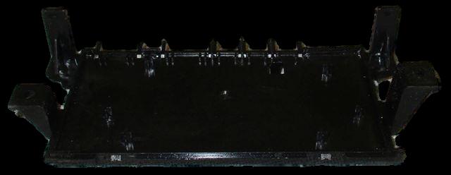 originální zadní kryt tlačítkové jednotky na myčky Beko, Blomberg - 1766670200 Beko / Blomberg