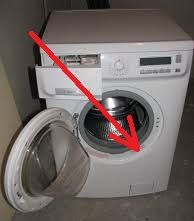 Štítek na pračce
